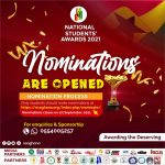 Nominations opened for the 7th National Students' Awards (NSA) Ghana (2021)